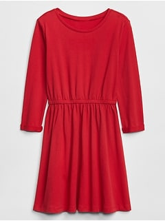 Always On Essentials Three-Quarter Sleeve Dress in Jersey
