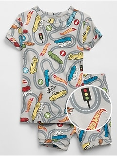 babyGap&#124 Hot Wheels&#169 Short PJ Set