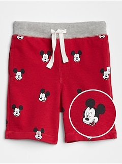 babyGap&#124 Disney Mickey Mouse Pull-On Shorts