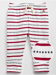 Stars & Stripes Pull-On Pants
