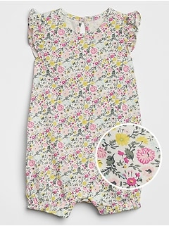 Floral Flutter One-Piece