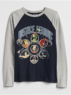 GapKids &#124 DC&#8482 Graphic Raglan T-Shirt