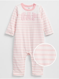 Arch Logo Stripe One-Piece