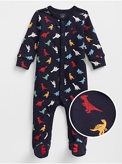 Dino Footed One-Piece