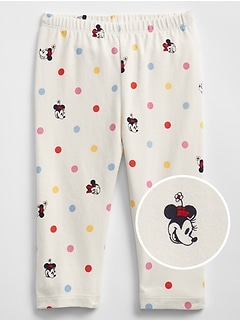 babyGap &#124 Disney Mickey Mouse and Minnie Mouse Leggings