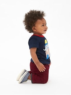 Baby Pull-On Jersey-Lined Cords
