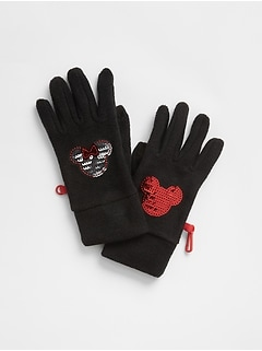 GapKids&#124 Disney Minnie Mouse Gloves