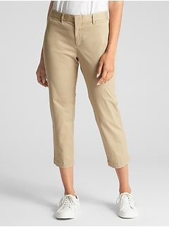 Curvy Slim City Crop Pants