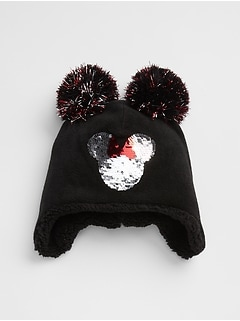 GapKids | Disney Mickey Mouse Sequin Pom-Pom Hat