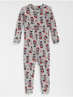Babygap &#124 Disney Baby Minnie Mouse Pajama One-Piece
