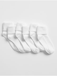 Ribbed Crew Socks (3-Pack)