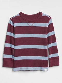 Stripe Thermal T-Shirt