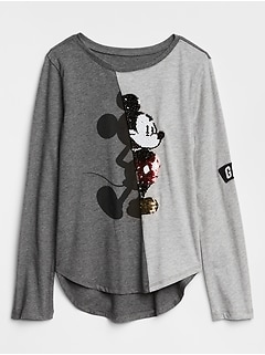 Gap | Disney Mickey Mouse and Minnie Mouse Long Sleeve T-Shirt