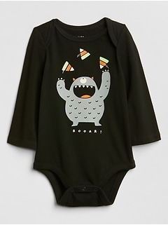 Graphic Long Sleeve Bodysuit