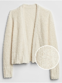 Chunky Knit Cardigan Sweater
