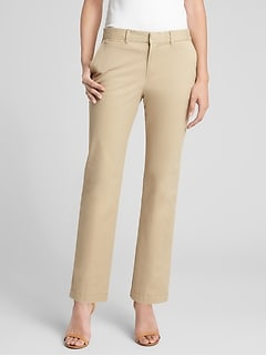 Slim City Pants in Twill
