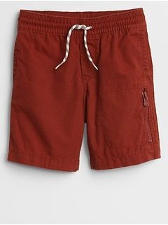 Pull-On Ripstop Shorts