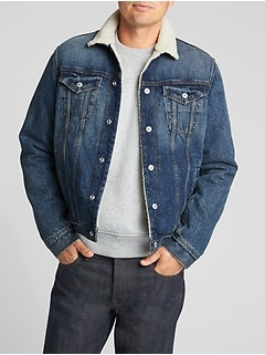 Icon Sherpa-Lined Denim Jacket