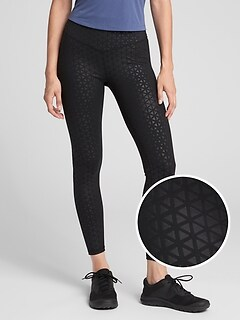 GFast Blackout V-Waist Shine Print Leggings