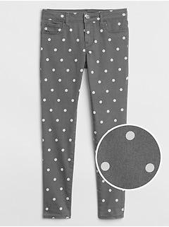 Kids Superdenim Dot Jeggings with Fantastiflex