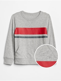 Stripe Pullover in Jersey