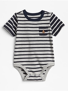 Stripe Pocket Bodysuit