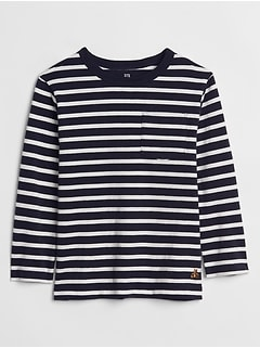 Toddler Stripe Long Sleeve T-Shirt