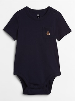 Brannan Bear Pocket Bodysuit