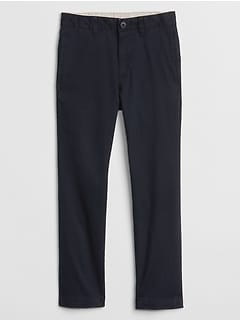 Kids Uniform Pants in Twill