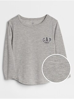 Logo Long Sleeve Pajama T-Shirt
