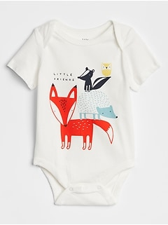 Graphic Short Sleeve Bodysuit