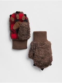 Bear Paw Mittens