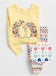 babyGap Graphic Pajama Set