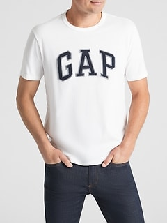 Embroidered Gap Logo T-Shirt In Jersey