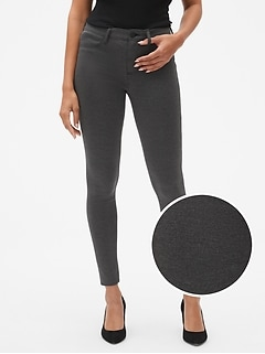 Five-Pocket Leggings in Ponte