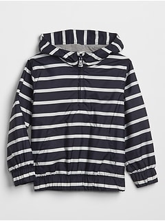 Stripe Anorak Jacket
