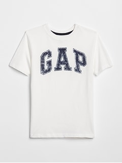 Kids Distressed Gap Logo Graphic Tee
