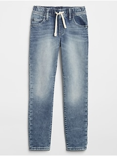 Kids Pull-On Slim Jeans