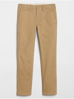 Kids Lived-In Khakis with Stretch