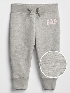 babyGap Gap Logo Pants In Fleece