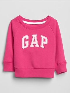 Toddler Raglan Gap Logo Pullover