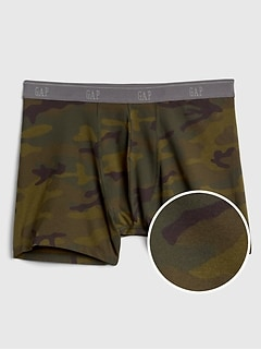 Print Stretch Boxer Briefs