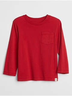Pocket Long-Sleeve T-Shirt