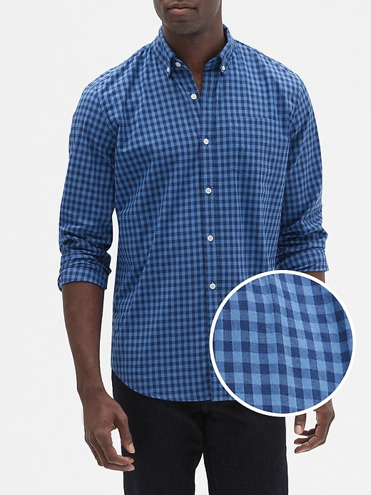 Gap Factory Poplin Shirt in Standard Fit