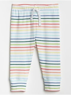 Baby Print Cuffed Pants