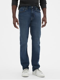 Slim Straight Fit Jeans with GapFlex
