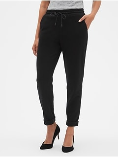 Structured Joggers