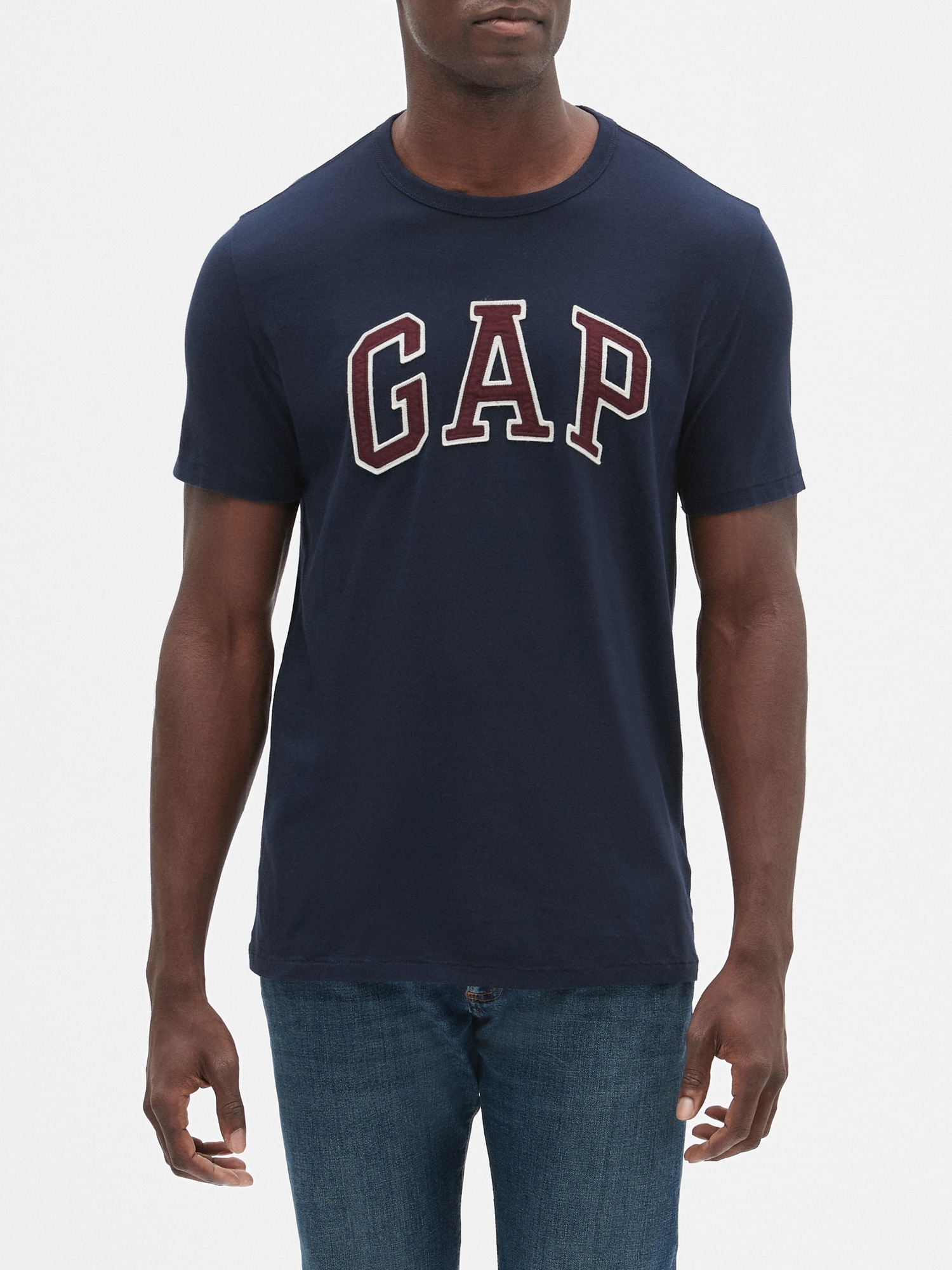 235c6c88d Embroidered Gap Logo T-Shirt In Jersey | Gap Factory