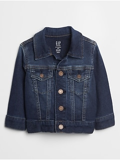 Baby Denim Jacket With Washwell™
