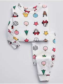 babyGap &#124 Disney Mickey Mouse and Minnie Mouse PJ Set